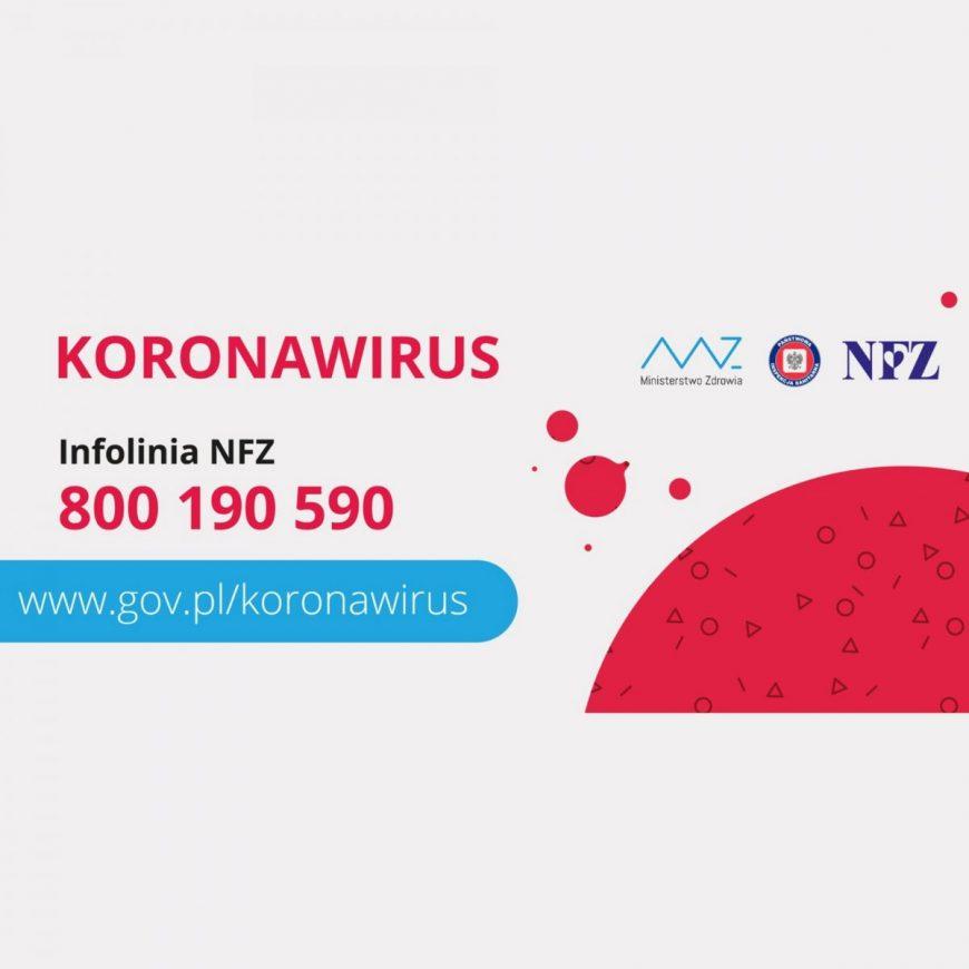 Co robić jak widzisz objawy koronawirusa COVID-19